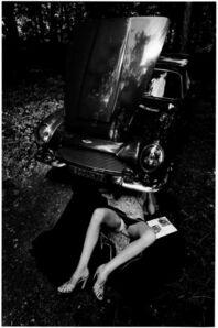 Jeanloup Sieff, 'Aston Martin', 1975