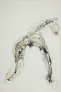Raul Gabriel, 'Writing #4', 2011