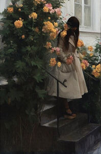 Nick Alm, 'Down the Stairs', 2017