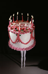 Laurie Simmons, 'Walking Cake (Color)', 1989