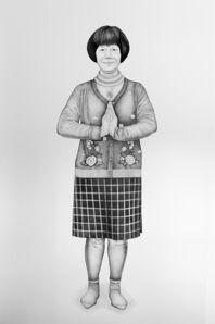 Henna Pohjola, 'Hé shí, Heshi - Portrait of Liu Yumei', 2017