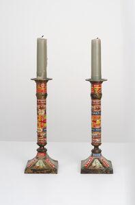 Felipe Jesus Consalvos, 'Untitled (Candlestick Holders)', 1920-1960