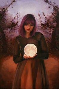 Sara Scribner, 'Pink Moon', 2020