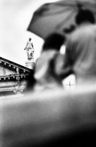 Renato D'Agostin, 'Venice (People and Statue)', 2010