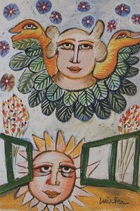 Mirka Mora, 'The Angel That Protects The Sun', ca. 1985
