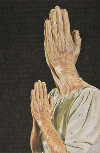 Eric Yahnker, 'Faith Face #3', 2020