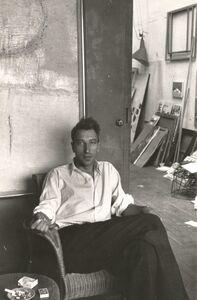 Nicolas de Staël, 'Portrait by Denise Colomb', 1954