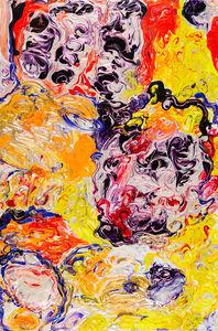 Simone Gad, 'Bruxelles LSD Abstracted Numero Un', 2018