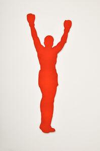 Mark Calderon, 'FIGHTER (Orange)', 2016