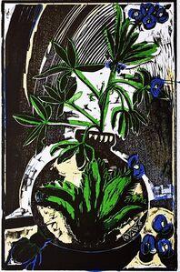 Eric Avery, 'Bluebonnet: Texas State Flower', 1988