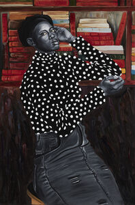 Otis Kwame Kye Quaicoe, 'Amanda Grace in Poka Dot Turtleneck', 2019