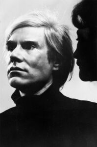 Paola Agosti, 'Andy Warhol Roma', 1972