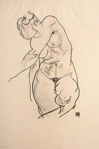 Egon Schiele, 'Stehender weiblicher Akt (Standing Female Nude)', 1918