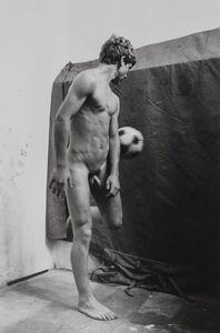 Will McBride, 'Oliviero with Ball in Casoli'