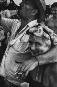 Harold Feinstein, 'Man & Wife Drinking Krueger Beer', 1950-Printed 1980s