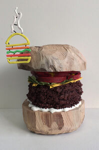 Brent Owens, 'Double Burger', 2015