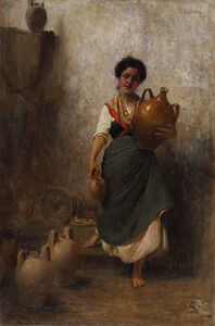 Gaetano Esposito, 'The water-seller'