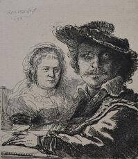 Self Portrait with Saskia