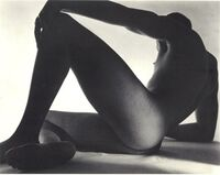 Triangle Male Nude - Reclining