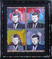 JFK - Four Portraits
