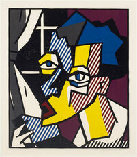 The Student from the Expressionist Woodcut Series