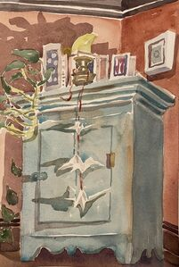 Susan Greenstein, 'Old Cabinet', 2020