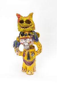 Ramesh Mario Nithiyendran, 'Monkey with yellow mask', 2019