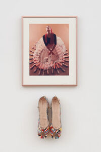 Rose English, 'Study for a Divertissement: Diana with crinoline and pointe shoes II', 1973
