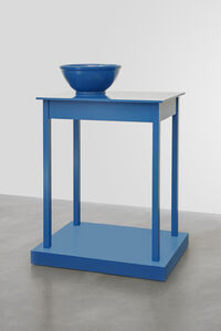Roy McMakin, 'Untitled (a table that looks like a sculpture)', 2016