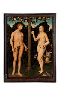 Lucas Cranach the Younger, 'Adam et Eve'