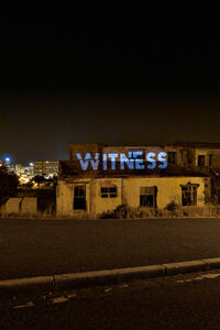 Haroon Gunn-Salie, 'Witness: a site-specific intervention', 2012