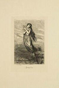 Théodore Chassériau, 'Sapho', 1844