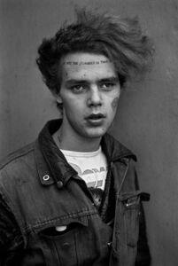 Derek Ridgers, 'Tuinol Barry, Chelsea, London', 1983