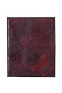 Anneliese Schrenk, 'Ohne Titel (kleine Malerei ziemlich rot) '