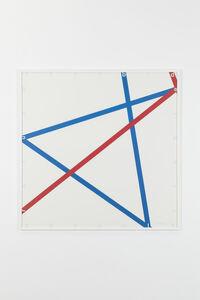 François Morellet, 'Blue-red, 105/125', 1982