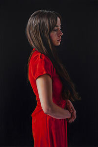David O'Kane, 'Photogénie - Figure in Red (Number 4 from a series of 12 paintings) ', 2018