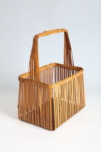 Kosuge Kōgetsu, 'Rectangular Basket (T-4287)', Showa era (1926, 1989), 1970s