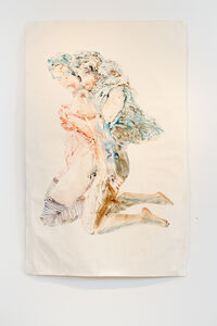 Joan Cox, 'The Lovers (after Schiele)', 2013