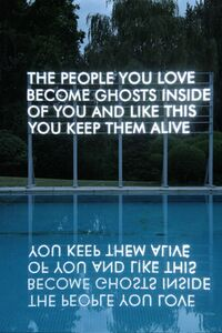 Robert Montgomery, 'People You Love', 2012