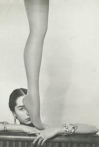 Erwin Blumenfeld, 'Brian Stocking Leg & Shadow, New York', 1952