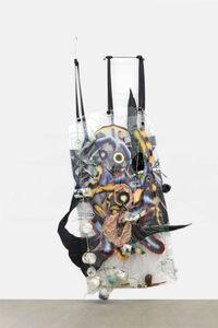 Kerstin Brätsch, 'Stone Call is for Bodybag PLUMP PUCKER', 2015