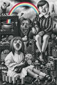 Amandine Urruty, 'The Meat Triptych', 2018