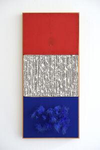 Armando, 'Triptych (Nul): Rood-Wit-Blauw & Orange Pennon', 1962