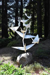 Kevin Box, '[ 3 ] Rising Cranes (Unique Series) #6'