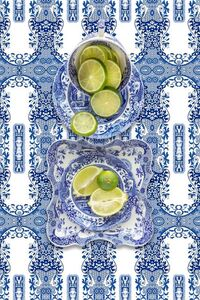 JP Terlizzi, 'Spode Blue Italian with Lime', 2019