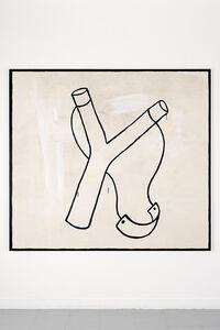 Walter Swennen, 'Untitled (catapulte)', 1985