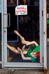 David Stock, 'Fallen, Park Slope', 2014