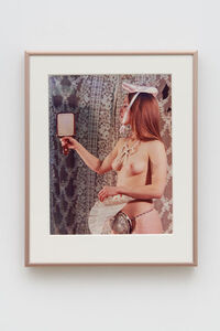Rose English, 'Study for a Divertissement: Jo and Porcelain Cache Sexe', 1973