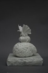 Jan Fabre, 'Gisant (The silk spun in the brain)', 2012