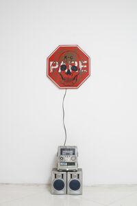 Mike Kelley, 'Singing Stop Sign', 1997